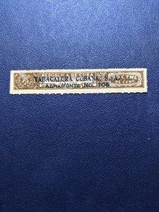 Cuba Tobacco revenue Rare, XF, CV $10