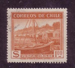 Chile Sc. # 205 Used