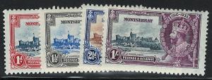 Montserrat 85-88 MH! King George V Silver Jubilee!