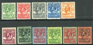 FALKLAND ISLANDS-1929-37 Whale & Penguins LMM set to £1 Sg 116-126