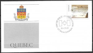 1984 Canada 1019  Canada Day: Quebec FDC