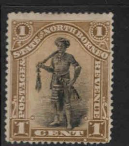 North Borneo Scott 59 MH* 1894 stamp