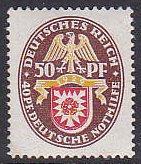 Germany B32 1929 Arms MNH