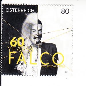 2017 Austria Falco Musician (Scott 2666) MNH