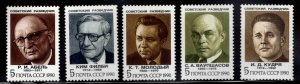 Russia Scott 5947-2951 MNH**  Soviet Agents set