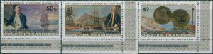 Cook Islands 1978 SG584-586 Discovery of Hawaii MNH