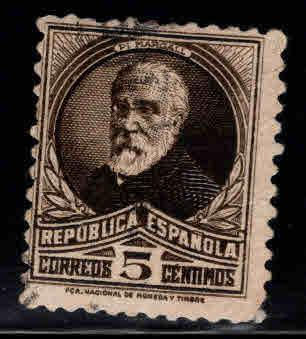 SPAIN Scott 516a Used stamp