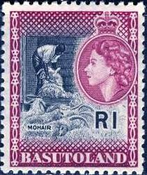 Basutoland; 1963: Sc. # 82; **/MNH Single Stamp