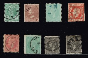 ROMANIA STAMP USED STAMP COLLECTION LOT #1