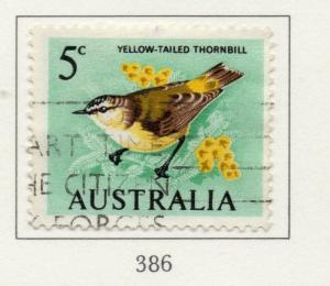 Australia 1966-71 Early Issue Fine Used 5c. 196213