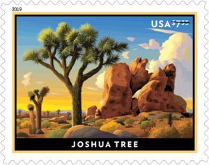 5347 Joshua Tree Priority Mail Single Mint/nh FREE SHIPPING