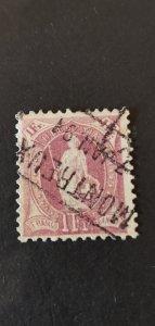 Switzerland #87 Used