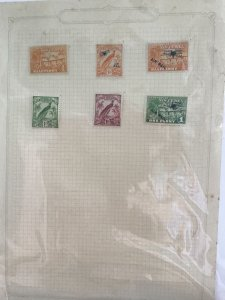New Guinea  mounted mint    stamp page R29198