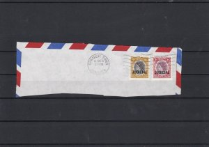 Jamaica Judicial Overprint Stamps on Cover Part ref 21898