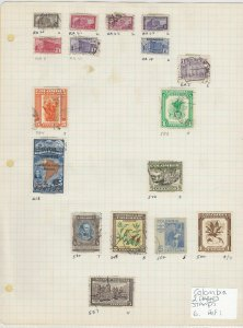 Colombia Stamps 2 Pages Ref: R6457