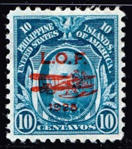 Philippines Stamp 1928 Airmail L.O.F.(London Orient Flight) MH/OG 10C STAMP