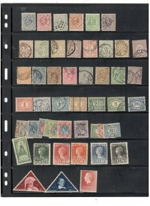 NETHRLANDS COLLECTION ON STOCK SHEET, MINT/USED