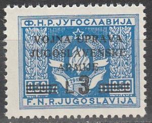 Yugoslavia Istria #45   MNH  (K1581)