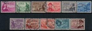 Norway #279-89  CV $5.30