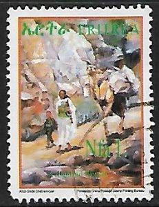 Eritrea # 388 - Highland Woman - used  -{BR17}
