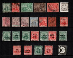 Trinidad and Tobago  24 diff MH and used cat $28.00