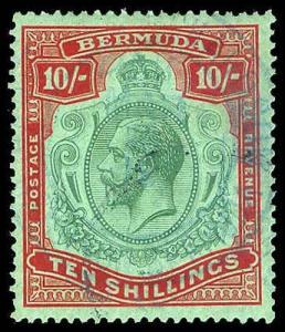 BERMUDA 96a  Used (ID # 78024)