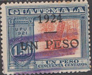 Guatemala #207 Used