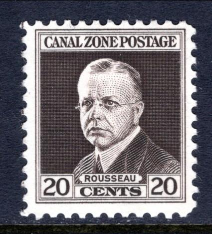 Canal Zone 112 MNH VF