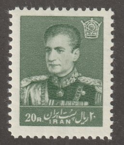 -Persian stamp, Scott#1121, mint never hinged, HIM Reza Shah Pahlavi, #27b4