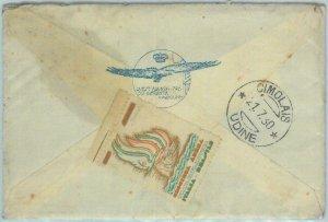 82882 - ITALY  - Postal History - Special seal on COVER: Crociera Atlantica 1930