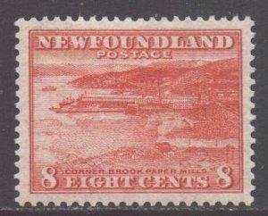 Canada Newfoundland Scott 209 - SG227, 1932 George V 8c MH*