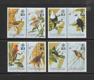 BIRDS - SEYCHELLES #786-93  MNH