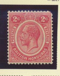 British Honduras Stamp Scott #94, Mint Hinged