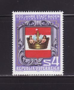 Austria 1142 Set MNH Coat of Arms (A)