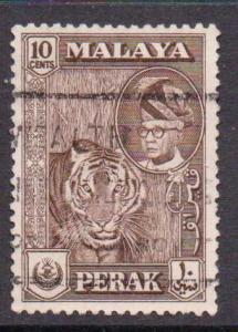 Malaya-Perak   #132  used  (1957)