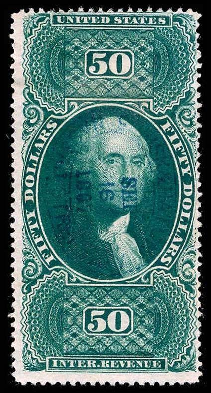 U.S. REV. FIRST ISSUE R101c  Used (ID # 76830)