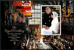 HERRICKSTAMP NEW ISSUES BAHAMAS Sc.# 1482 Royal Wedding Prince Harry S/S