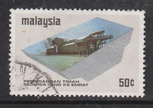 Malaysia 1974 Sc 125 Tin Conference 50c Used