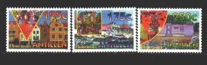 Antilles. 1995. 824-26. Festival in curacao. MNH.