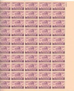 US 782 - 3¢ Arkansas Post, Unused