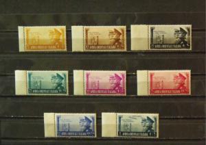 3805   Italy East Africa  MNH/MH # 34,35,36,37,38,39,40,C19        CV$ 35.75