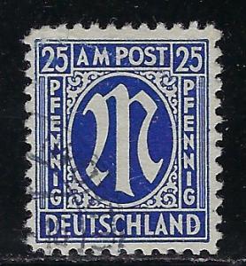 Germany AM Post Scott # 3N13a, used