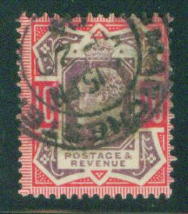 Great Britain Scott 137 KEVII 1902 stamp CV $70