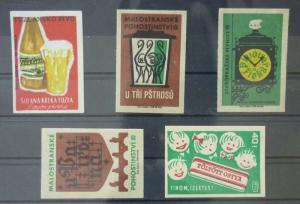 Match Box Labels ! drink beer light beer GN10