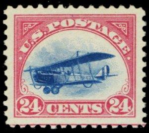 C3, Mint Superb NH A JUMBO GEM 24¢ Jenny Stamp WoW - Stuart Katz