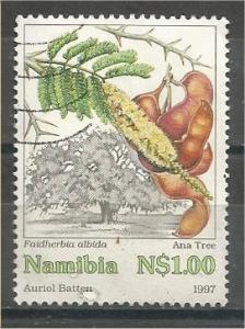 NAMIBIA, 1997, used $1 Ana tree, Scott 850