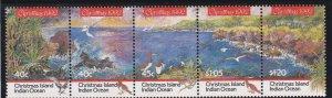 Christmas Island #  347, Christmas - Booby Birds, NH, 1/2 Cat.