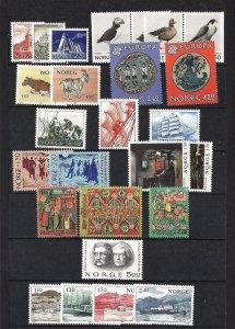 NORWAY 1981 Scott 772-97 Cmplt Year mnh - scv $19.75 less 70%=$5.92
