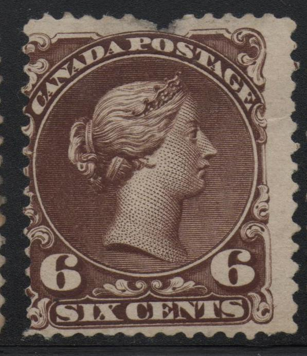 Canada Scott #27 Mint NG Large Queen Stamp