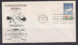 1098 Wildlife Conservation Unaddressed Fleetwood FDC
